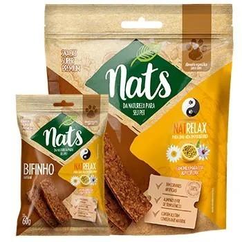 Bifinho Natural Snack Nats NatRelax para Cães