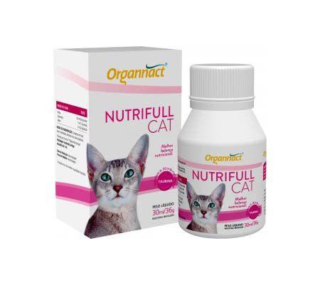 Suplemento Alimentar Organnact Nutrifull Cat 30ml