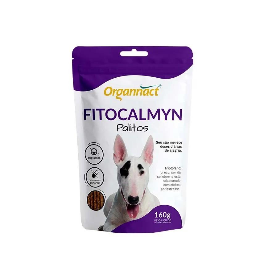 Suplemento Organnact Fitocalmyn Palitos 160g