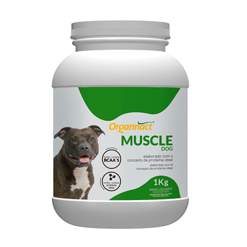 Suplemento Vitamínico Organnact Muscle Dog