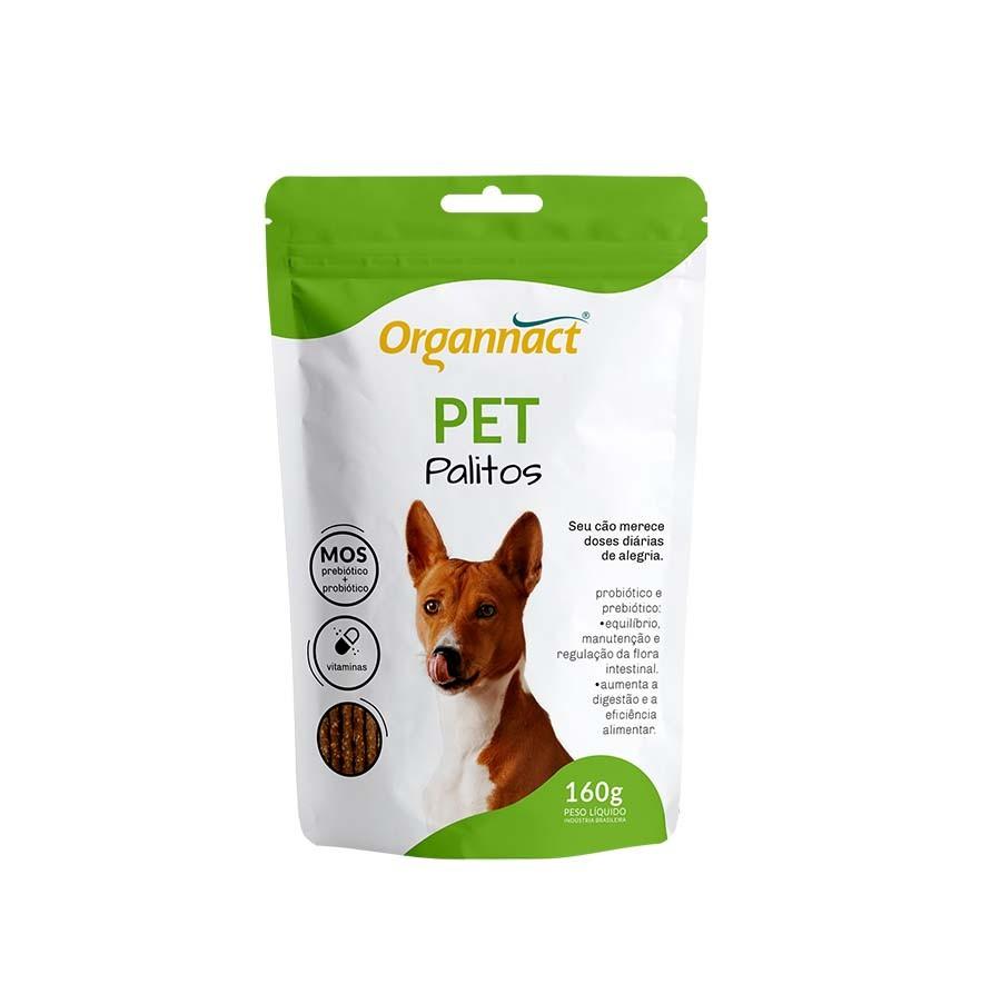 Suplemento Organnact Pet Palitos 160g