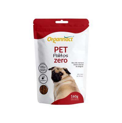 Suplemento Organnact Pet Palitos Zero 160g