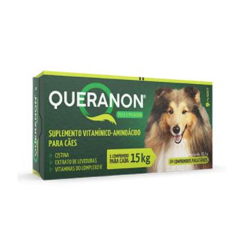 Suplemento Vitamínico Avert Queranon para Cães - 30 Comprimidos