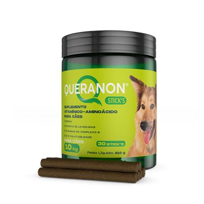 Suplemento Vitamínico Avert Queranon para Cães - 30 Sticks