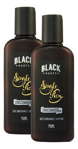 02 Condicionador para Barba Black Barts® Single Ron  - Black Barts