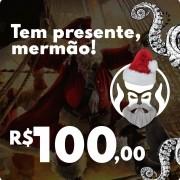 CARTÃO VALE COMPRAS PRESENTE DE NATAL BLACK BARTS - R$100,00