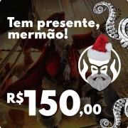 CARTÃO VALE COMPRAS PRESENTE DE NATAL BLACK BARTS - R$150,00