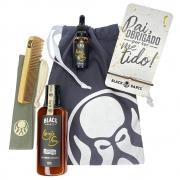 Kit Porta Celular Grátis + Óleo + Shampoo de Barba + Pente Personalizado + Bag Artesanal
