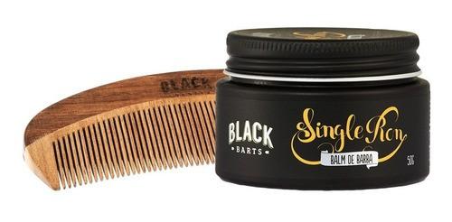 Kit Barba E Cabelo Single Ron Black Barts - 06 Produtos  - Black Barts