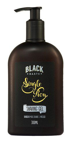 Kit Completo Cuidados com a Barba e Barbear Black Barts® Single Ron