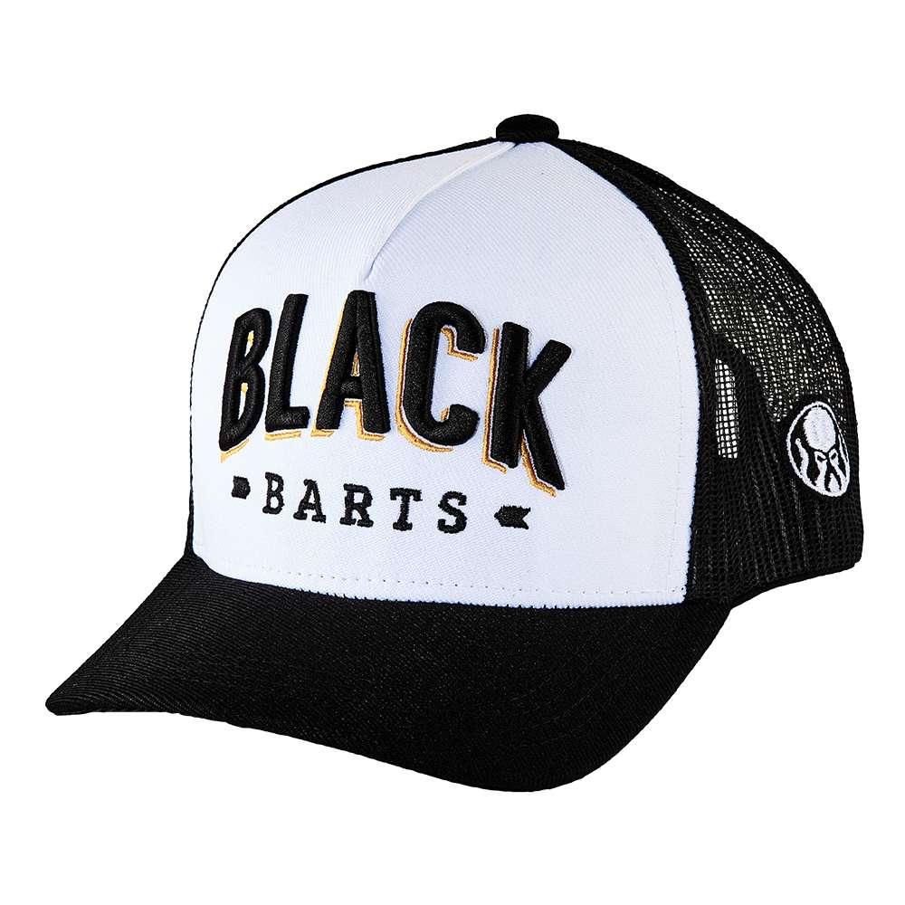 Boné Trucker Black Barts® Coleção Trajes do Pirata 2019  - Black Barts
