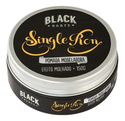Pomada Cabelo Shampoo Condicionador Pente Barba Blackbarts  - Black Barts
