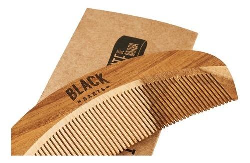 Pomada Modeladora Efeito Molhado E Pente Barba - Black Barts  - Black Barts