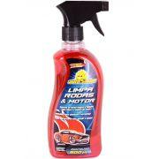 Limpa Motor e Rodas Spray 500ml (Remove graxa e gordura)