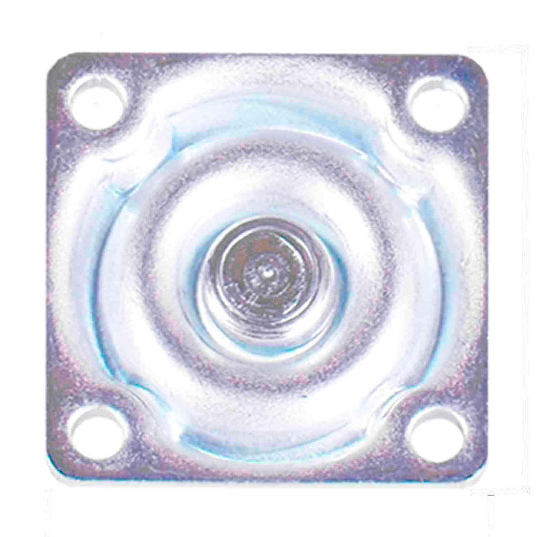 4 Roda Rodízio Giratório Silicone com Freio Rodinha Anti Risco 36mm 40kg