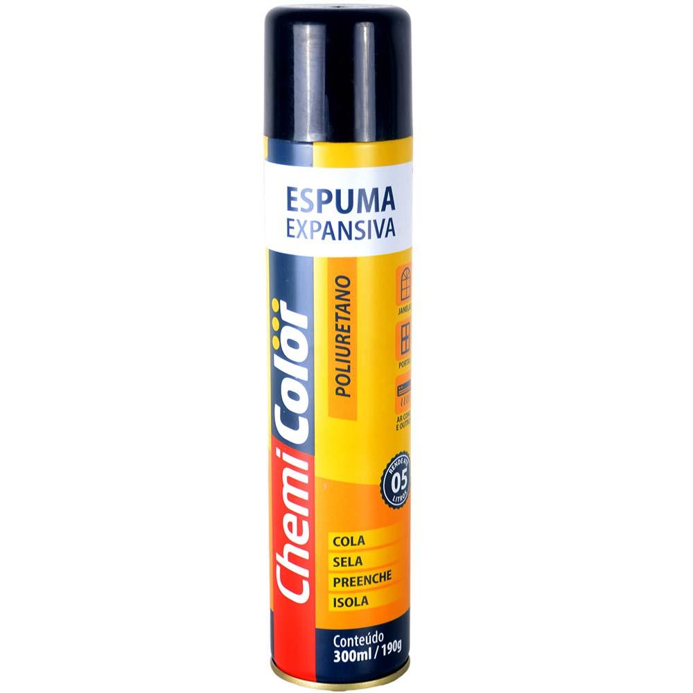 Cola Spray Espuma Expansiva PU 300ml