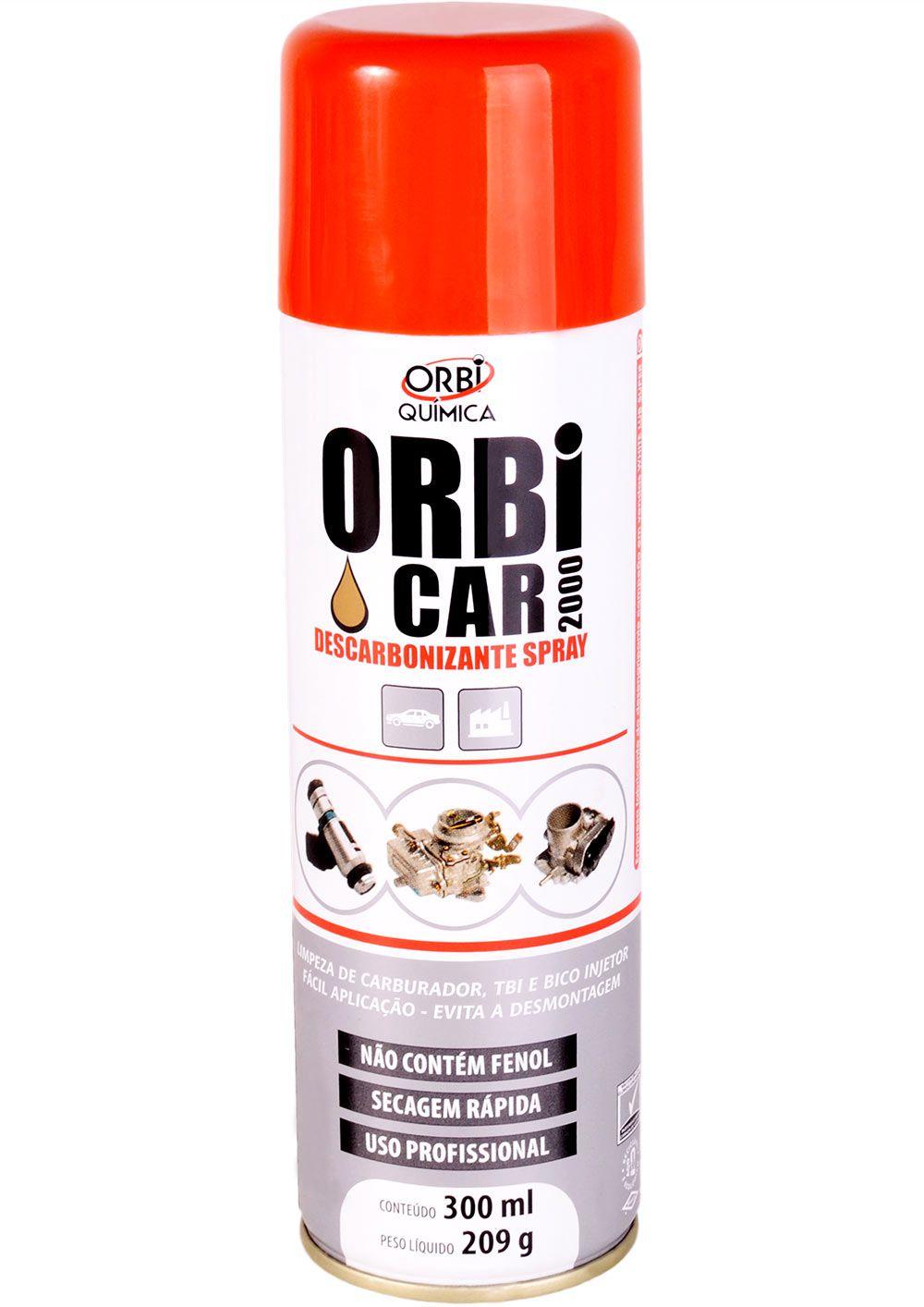 Descarbonizante Spray 300ml (Remove Graxa e Fuligem)