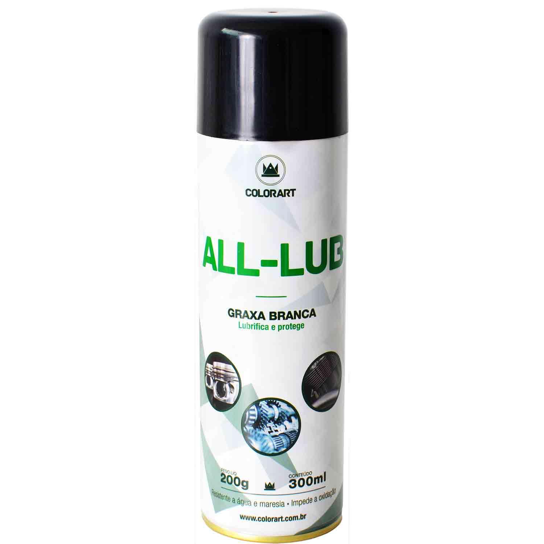 Graxa Branca Spray Lubrificante 300ml (Resistente a água)