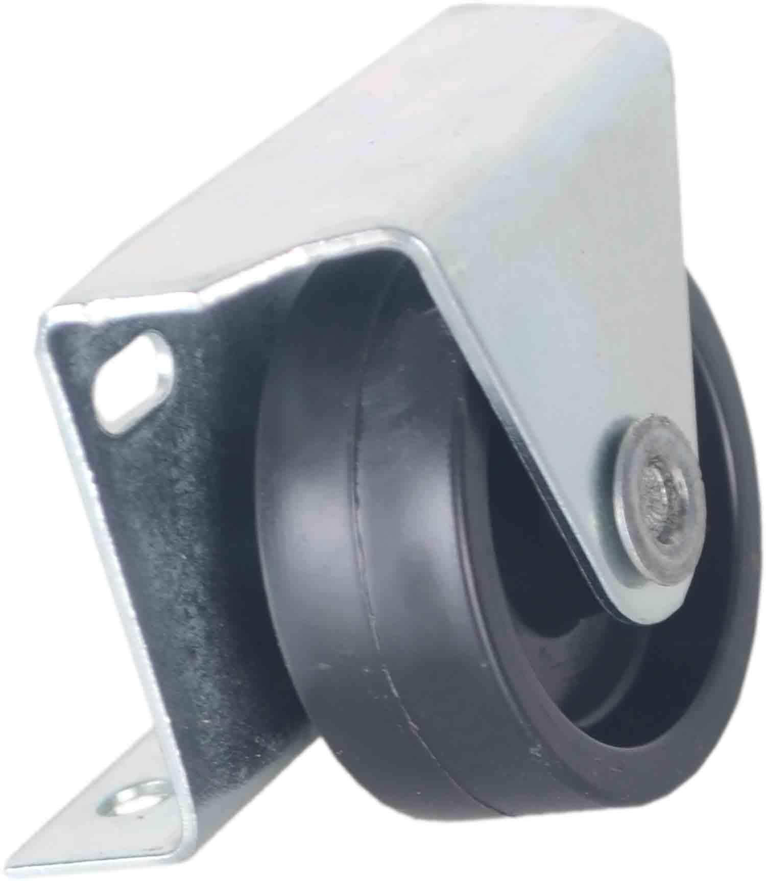 10 Roda Rodízio Fixo Chapa L 36mm 50kg (Cama auxiliar)