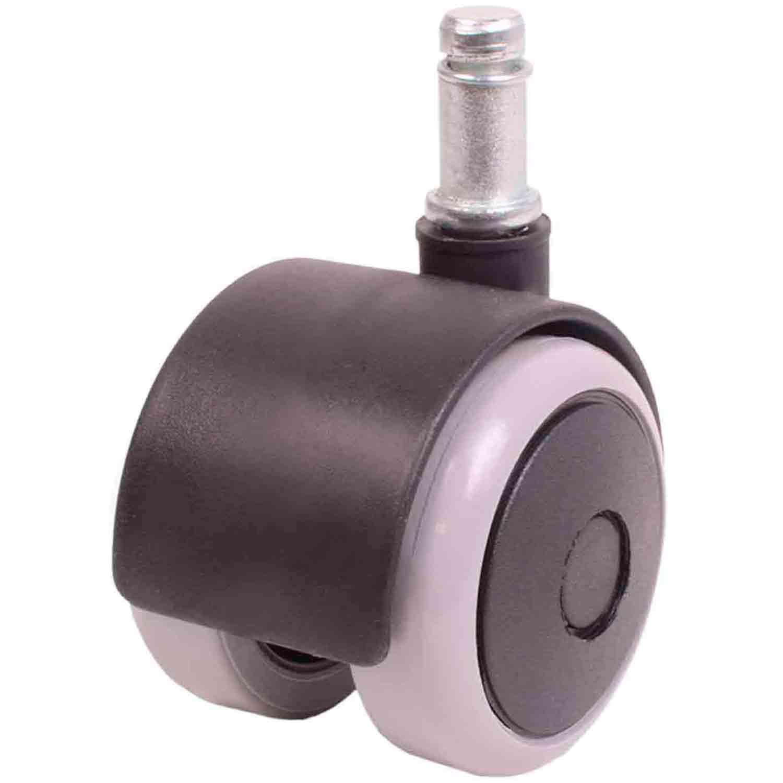 Kit 20 Roda de Cadeira Silicone Anti Risco Rodízio Cinza 11mm