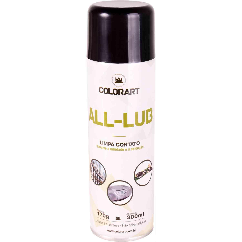 Limpa Contato Spray Lubrificante 300ml (Sistemas elétricos e eletrônicos)