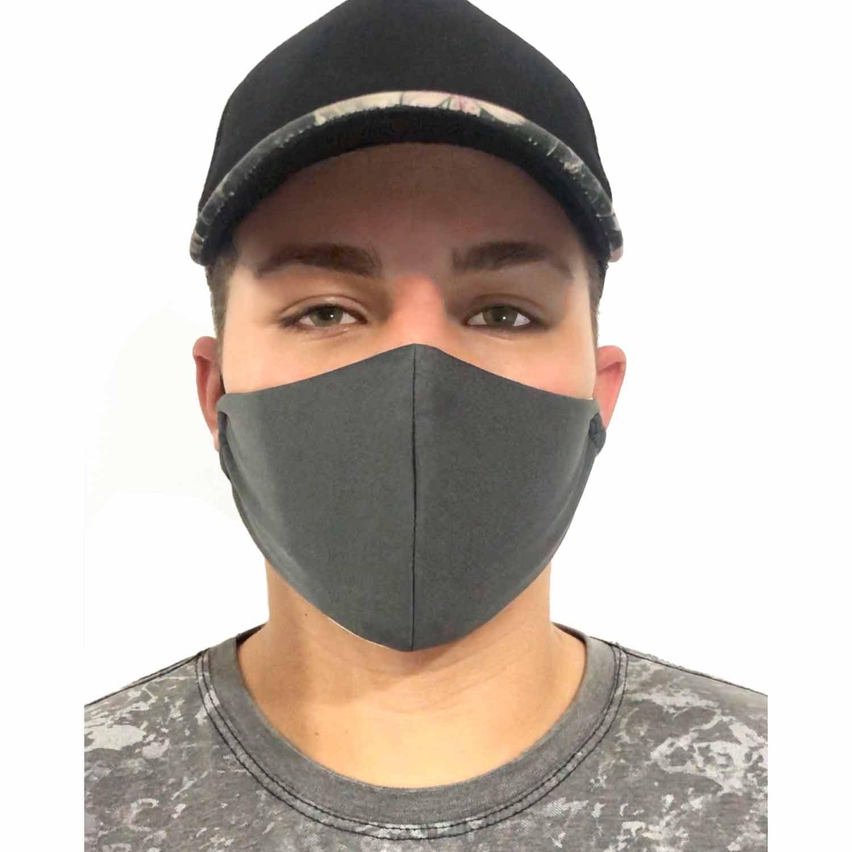 Mascara de Proteção Dupla Camada Tecido Não Descastável