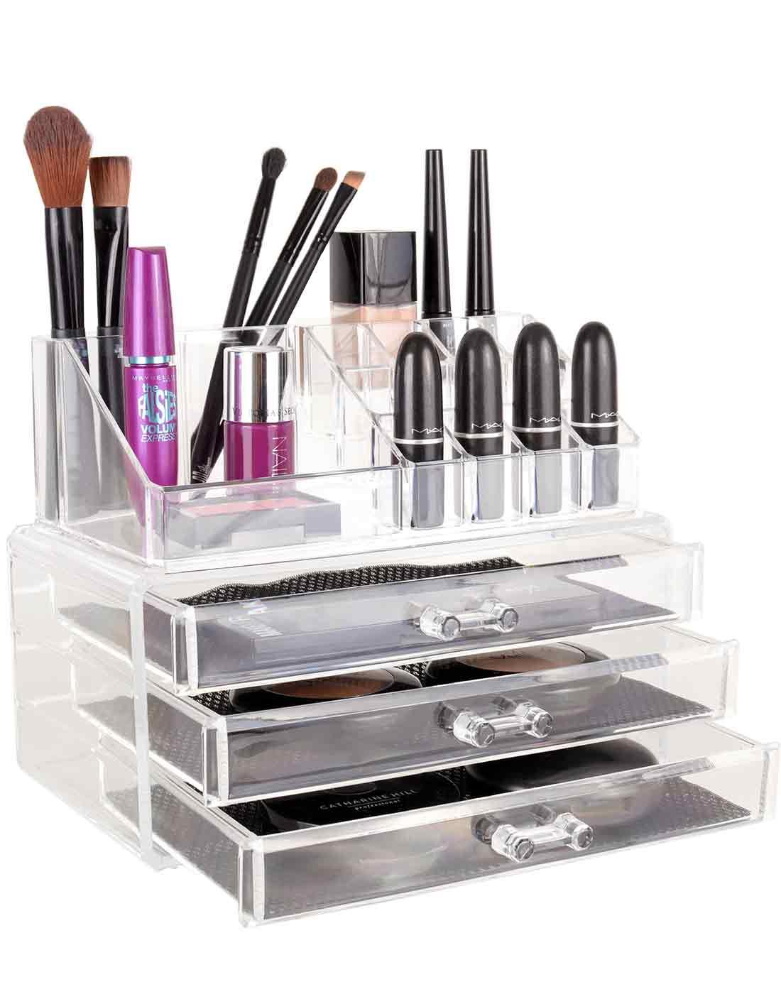 Porta Maquiagem Organizador Grande Tropikanas