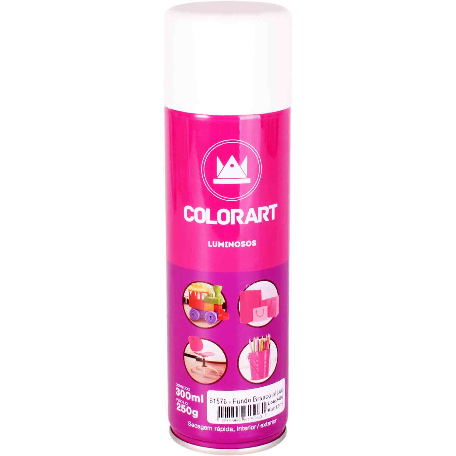 Primer Fundo Branco para Tinta Luminosa Colorart 300ml
