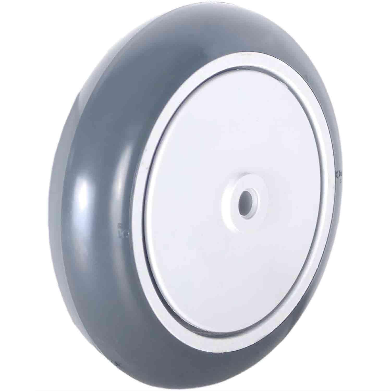 """Roda para Carrinho de Mercado Silicone 5"""" 127mm 115kg"""