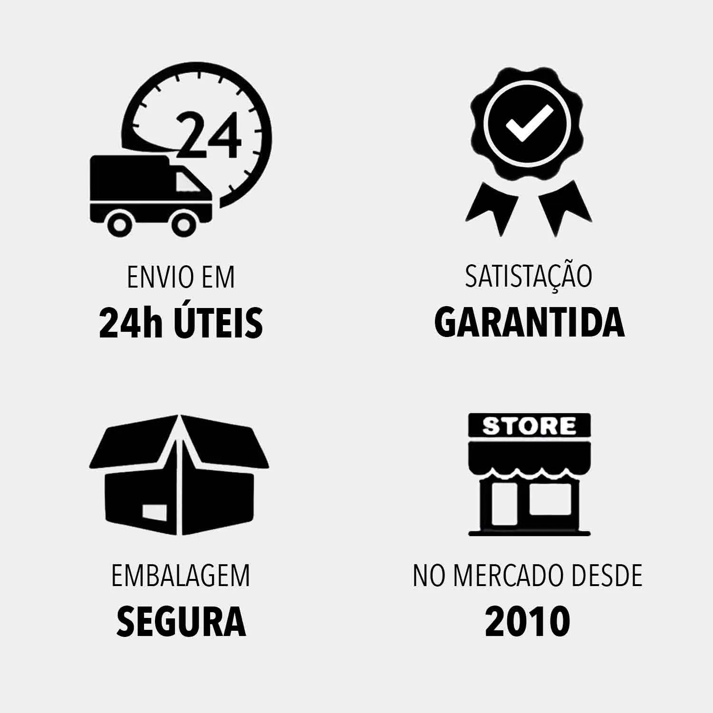 "Rodízio Giratório Parafuso 1/2"" 100mm 300kg"
