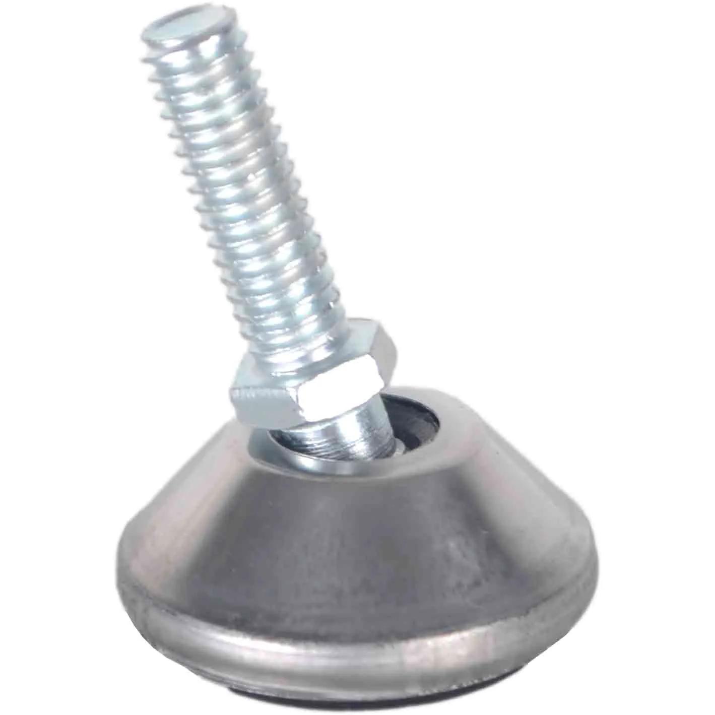 Sapata 34mm Articulada Aço Inox - Rosca 5/16