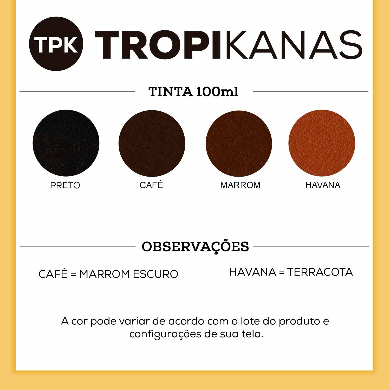 Tinta de Camurça Horizonte Tropikanas 100ml