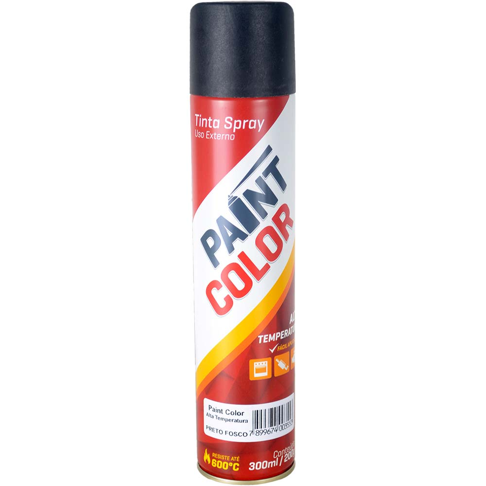 Tinta Spray Alta Temperatura Chemicolor 300ml