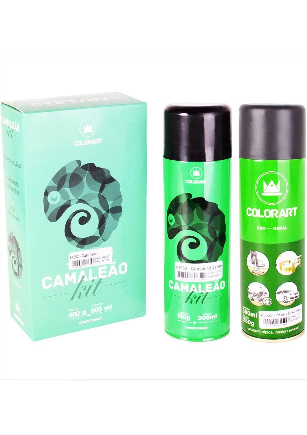 Tinta Spray Camaleão Muda de Cor Colorart 300ml