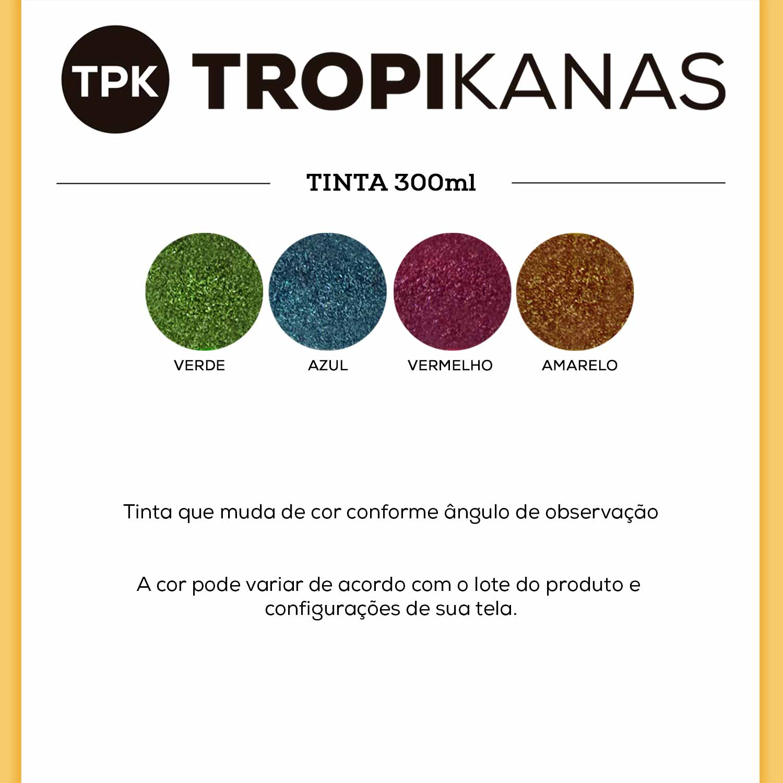 Tinta Spray Camaleão Muda de Cor Colorart Tropikanas 300ml