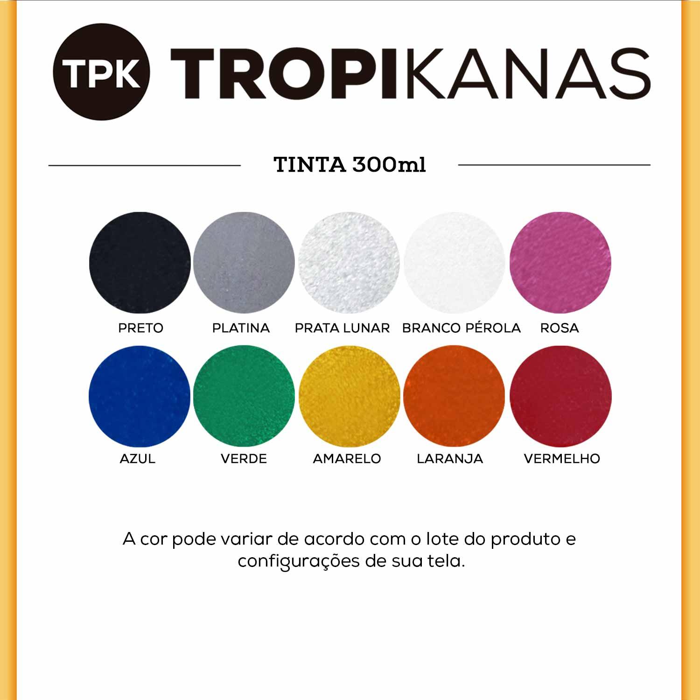 Tinta Spray Metálica Colorart Tropikanas 300ml