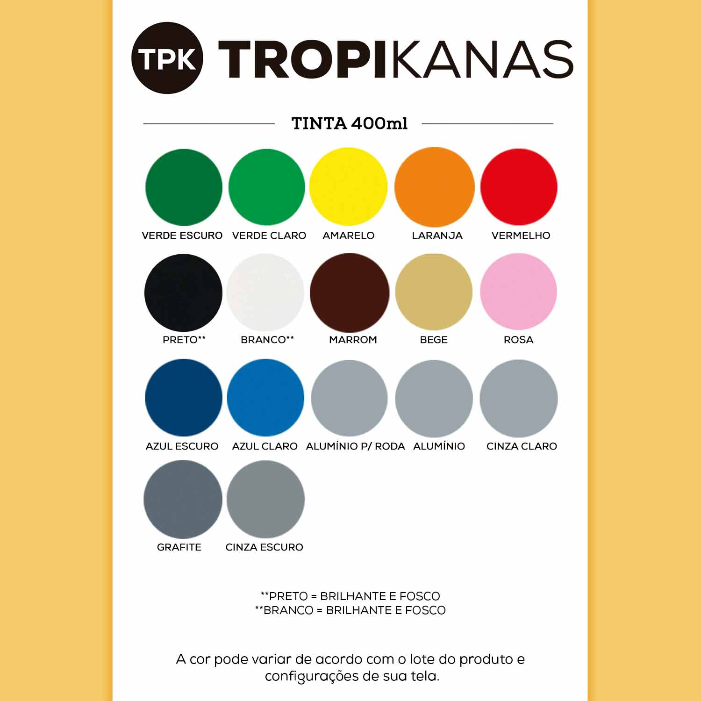 Tinta Spray Uso Geral Chemicolor Tropikanas 400ml