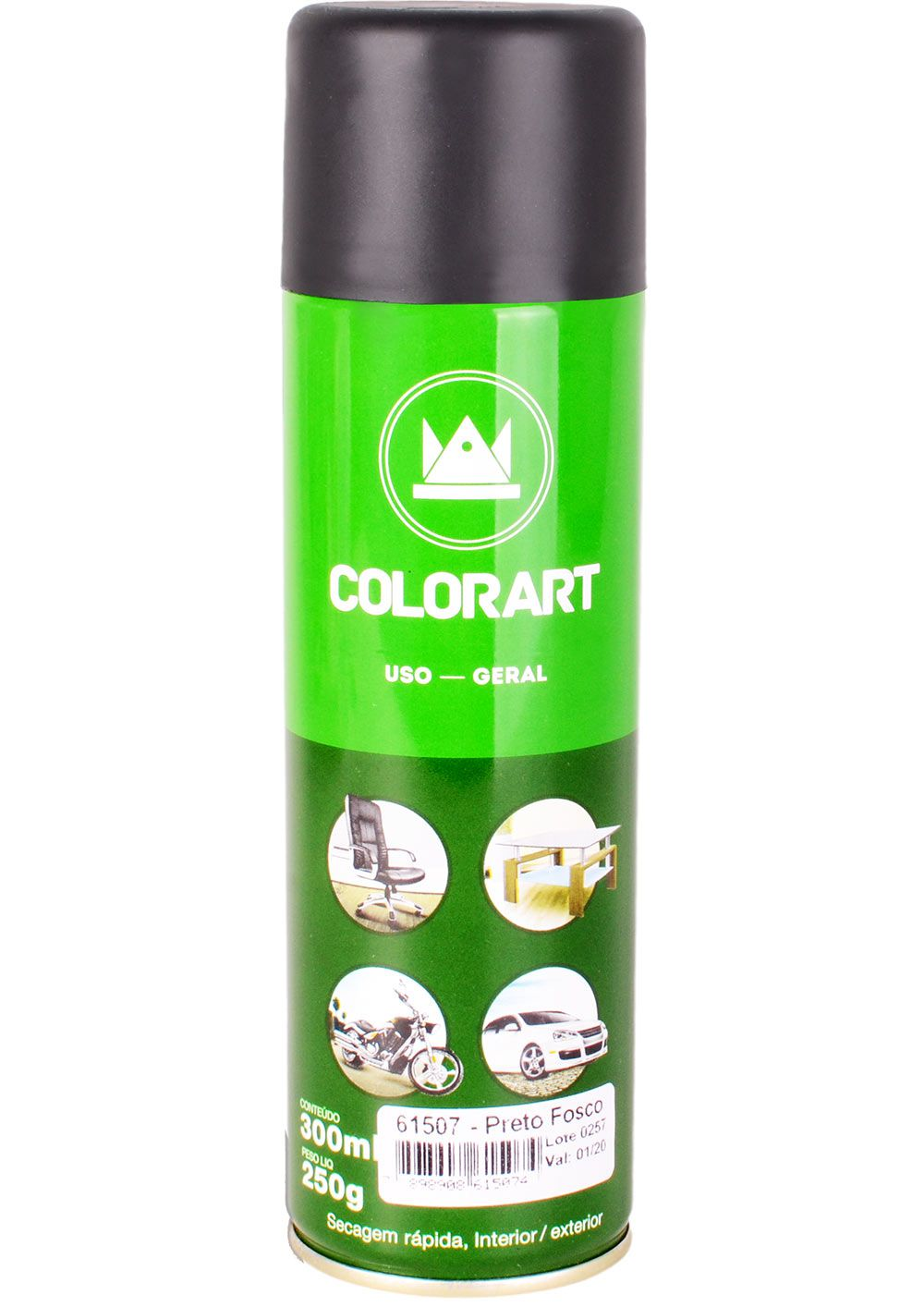 Tinta Spray Uso Geral Colorart 300ml