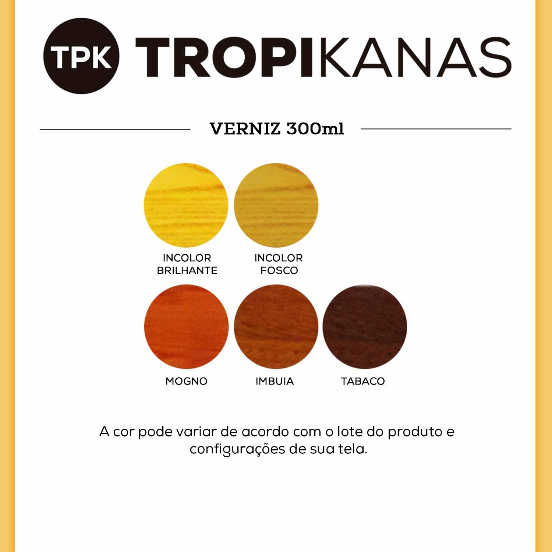 Verniz para Madeira Spray Colorart Tropikanas 300ml