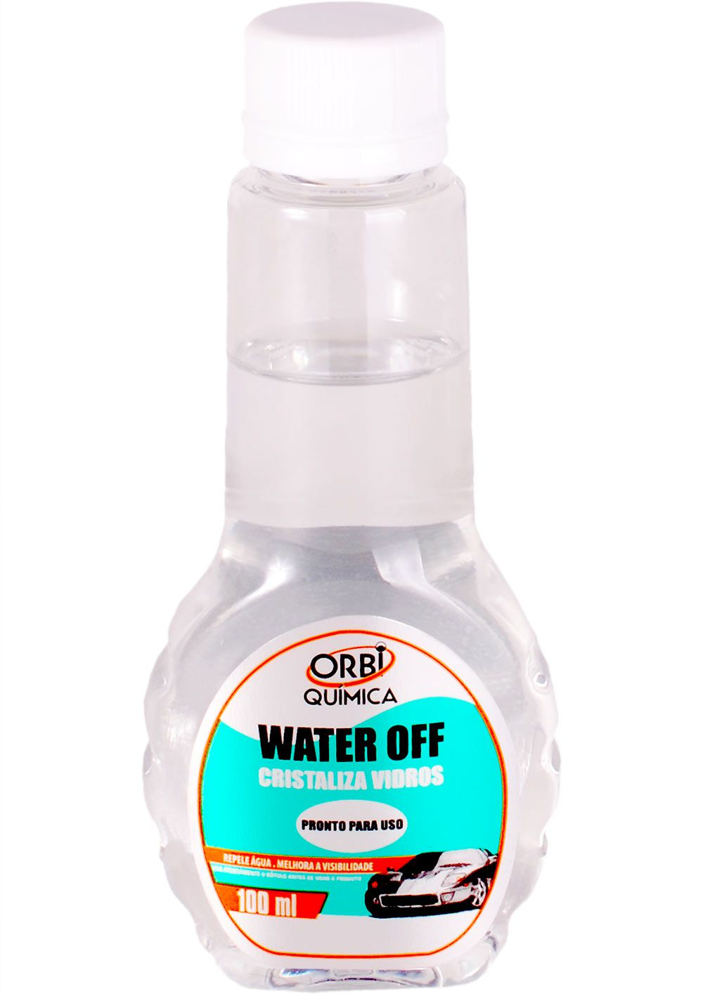 Water Off 100ml (Cristalizador de Parabrisa e Repelente de Água)