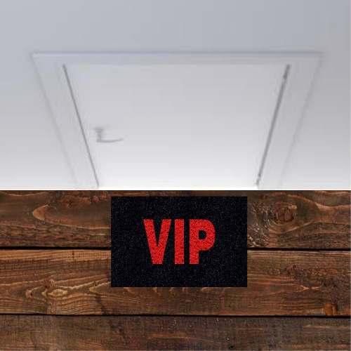 Tapete Para Porta Vip 60x40cm  - Zap Tapetes e Capachos Personalizados