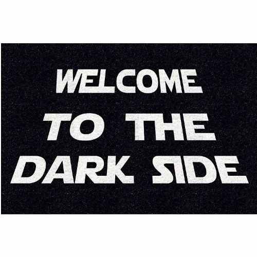 Tapete Star Wars Welcome To The Dark Side 60x40cm  - Zap Tapetes e Capachos Personalizados