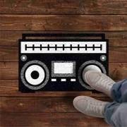 Tapete Rádio Retrô - 60x40 Cm