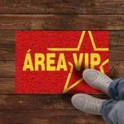 Tapete personalizado Areá Vip 60x40cm - Vermelho