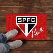 Tapete São Paulo + Nome personalizado - 80x40 cm