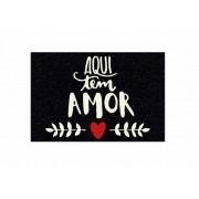 Capacho, Aqui tem Amor!! 60x40 cm