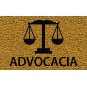 Capacho Personalizado Advocacia (B)   Ouro