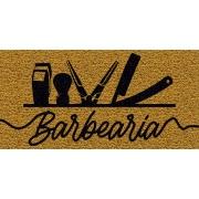 Capacho Personalizado Barbearia II | Ouro