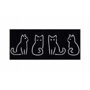 Capacho Personalizado Gatinhos