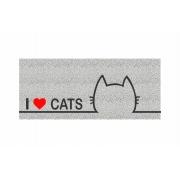 Capacho Personalizado I Love Cats